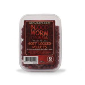 Sonubaits Soft Hooker Pellets Bloodworm