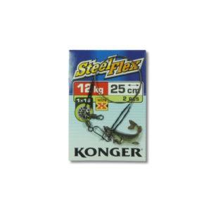 Konger Stahlvorfach Wire X Steelflex 12kg