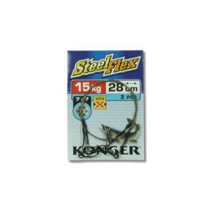 Konger Stahlvorfach Wire X Steelflex 15kg