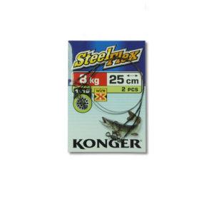 Konger Stahlvorfach Wire X Steelflex 8kg