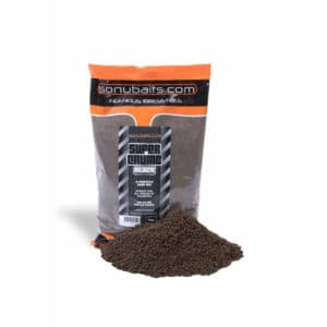 Sonubaits Grundfutter Supercrumb Black