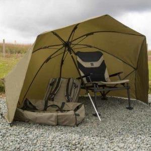 Korum 50inch Graphite Brolly Shelter